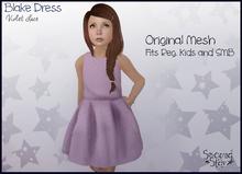 Blake Dress - Violet Lace