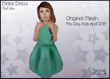 Blake Dress - Teal Lace