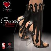 Similar Genova 2016 Shoes Leather BLACK