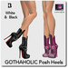 Blackburns Gothaholic Posh Heels