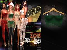 ORO - Zoie Top - Green