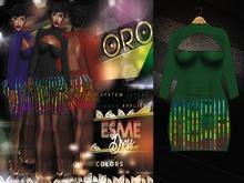 ORO - Esme Dress - Jungle Green