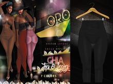 ORO - Ghia Leggings - Black Noir