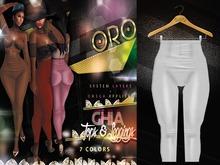 ORO - Ghia Leggings- Diamond White