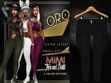 ORO - Mimi Pants - Black Noir