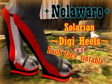 +Nelaware+ Solarian Digi Heels