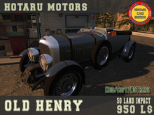 HOTARU MOTORS -  Old Henry  [BOX]