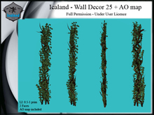 Icaland - Wall Decor 25 + AO map