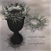 Snowpaws - Woodland Fairy Twig Crown