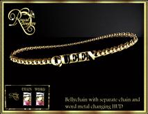RJ Queen Bellychain - mesh