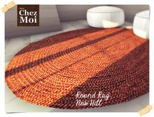 Round Rug Nob Hill ♥ CHEZ MOI