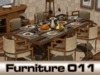 Dining room set Paradox, dinner table for 2, 4 or 6 - PG