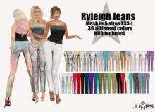 JUNES Ryleigh Jeans with HUD