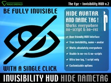 [ The Eye ] Invisibility HUD  Hide Avatar & NameTag !