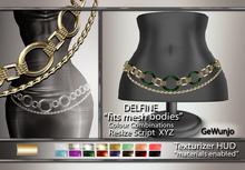 GeWunjo : DELFINE gold belt