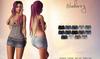 Blueberry - Britan Mesh Denim Skirt - Maitreya Lara, Belleza Freya Isis Venus, Slink Physique Hourglass - Fat Pack