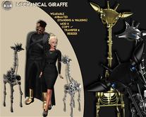 [Since1975]-Mechanical Giraffe-Black (Wear Me!)