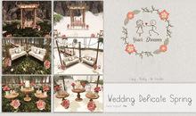 {YD} Wedding Delicate Spring