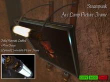 Steampunk Arc Lamp Picture Frame [ 1 Prim ]