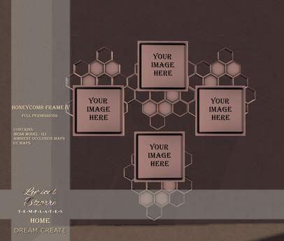 !Lyrical B!zarre Templates HOME! - Honeycomb Frame IV MESH FP