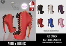 SUMMER SALE - ILLI - [SLink,MeshProject,Belleza,Maitreya] Abbey Boots (HUD Driven)