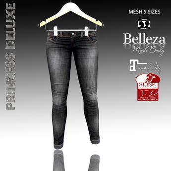 :.P.D.:Collor Jeans Black