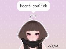[Future Popp] Heart cowlick
