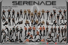 SERENADE Ultimate Male Modeling Pack - male posing male poses male pose