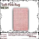 (ID) Soft Pink Rug