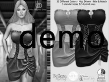 Bens Boutique - Pelin Strapless Dress  - Hud Driven Demo