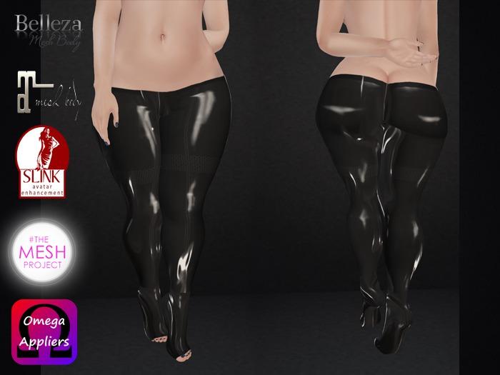 .::.What2Wear.::. Pants Latex Black