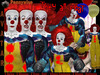 MALE AVATAR-[Pennywise-The IT]-Scary Clown Avatar-HALLOWEEN AVATAR-CARNIVAL AVATAR-CLOWN AVATAR-[CLASSIC AVATAR]