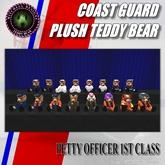 MD Coast Guard Teddy Bear Plush Series - PO1