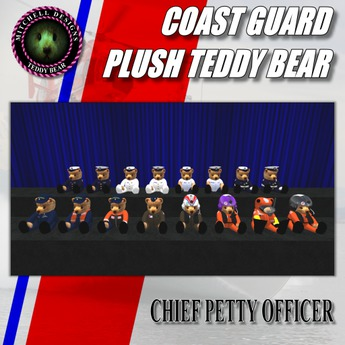 MD Coast Guard Teddy Bear Plush Series - CPO