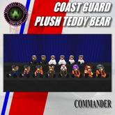 MD Coast Guard Teddy Bear Plush Series - CDR