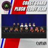 MD Coast Guard Teddy Bear Plush Series - CAPT