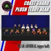 MD Coast Guard Teddy Bear Plush Series - RADM