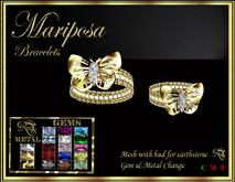RJ Mariposa (butterfly) Bracelets - mesh