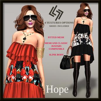 LEGENDAIRE HOPE DRESS