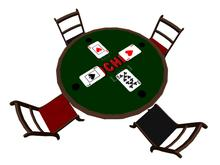 Euchre Game Table