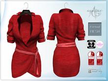 *agp* Eva dress / red