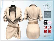 *agp* Eva dress / sand