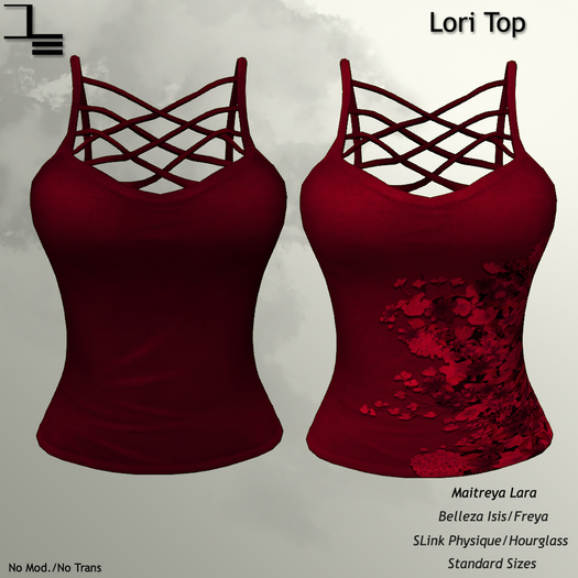 DE Designs - Lori Top - Red