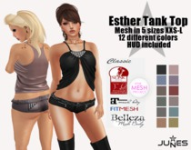 JUNES Esther Tank Top with HUD