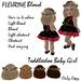 Toddleedoo Hair  Fleurine Blond