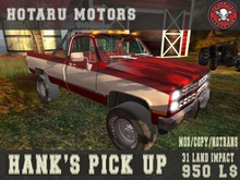 HOTARU MOTORS - Hank's Pick Up