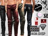 MENSOX  LEATHER PANTS  HUD