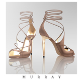 MURRAY- Raquel Laced Sandals / Praline