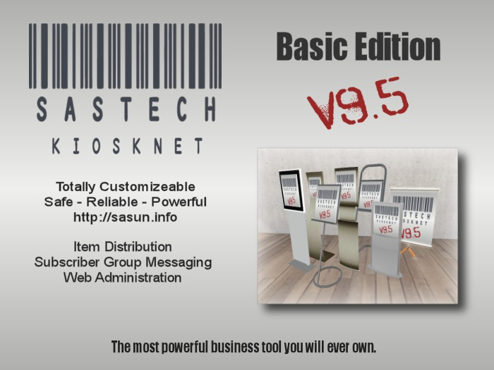 SasTech KioskNet Basic Edition