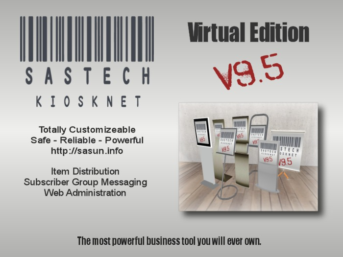 SasTech KioskNet Virtual Button Edition